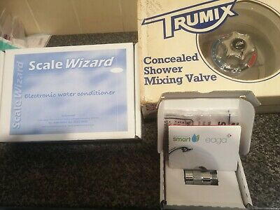 Concealed thermostatic shower mixer valve with scale wizard + eaga smart shower