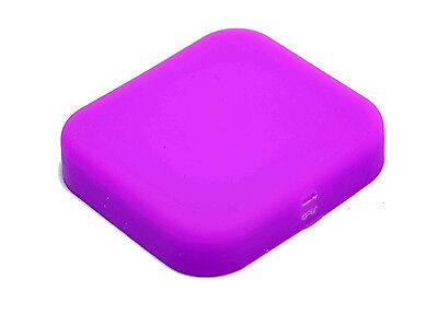 GoPro Hero 5/6/7 Purple Soft Silicone Lens Cover Hero 7 Protective Lens Cap
