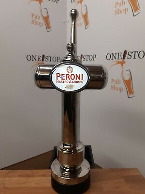 Peroni Italian Lager Or Any Brand Chrome Beer Pump /Font Tap And Handle