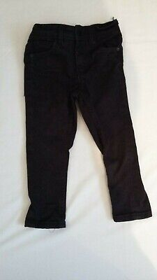 Boys Black Skinny Jeans from Next age 3 Years