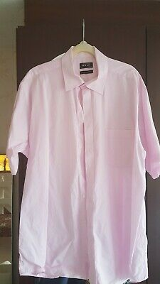 Mens  Thomas Nash  shirt 17.5 collar short sleeve