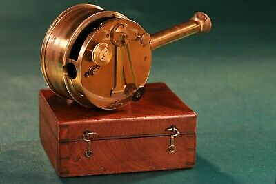 Antique CARY London Box or Pocket Sextant with Telescope c1850