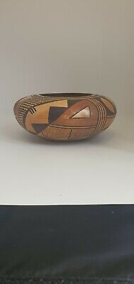 Authentic Hopi Pottery Bowl By Laura
