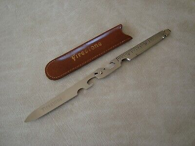 Vintage Firestone Tires Pocket Knife Advertising Promo