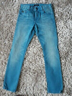 Scotch & Soda Strummer Salty Blue Boys Jeans Size 10 Years Height 140cm