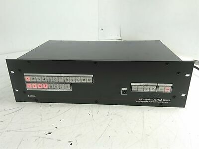 Extron Crosspoint 60-337-21 Ultra-Wideband Matrix Switcher Powered On Only AS-IS