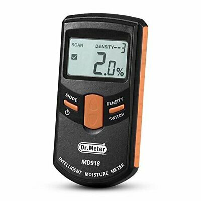 [Pinless Wood Moisture Meter]  Upgraded Version Inductive Pinless Tools Intellig