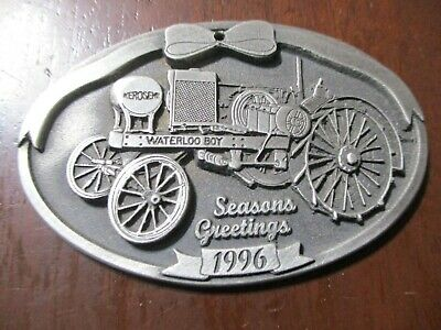 John Deere 1996 Pewter Ornament, Waterloo Boy Tractor First Edition