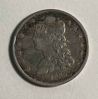 1835 Bust 25C VF cleaned (#12760)