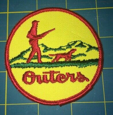 Outers Sporting Goods Gun Cleaning Accesories Advertising Patch.