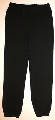 Kids Black School Joggers 13-14 years John Lewis VGC