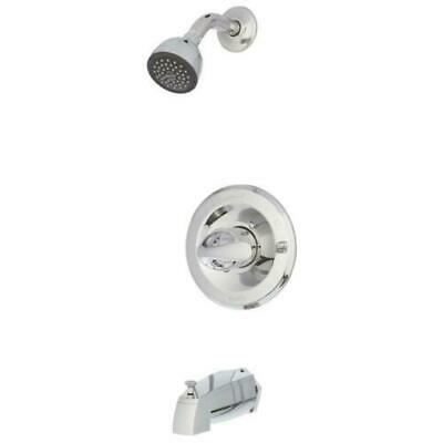 Delta T13420 Classic 1-Handle Wall Mount Tub and Shower Faucet Trim Kit Chrome
