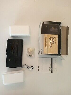 Radio Shack Voice Actuated Cassette Tape Recorder CTR-76 New in Box