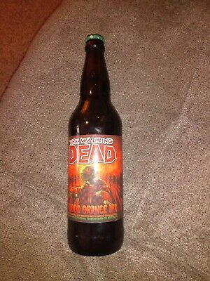 2015 Bottle of The Walking Dead Blood Orange IPA