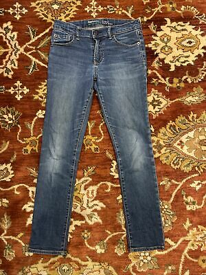 Gap Boys Blue Jeans 10years Elasticated Adjustable Waist RELAXED SKINNY