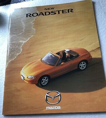 Mazda New Roadster Sales Brochure In Foreign Language Mint!