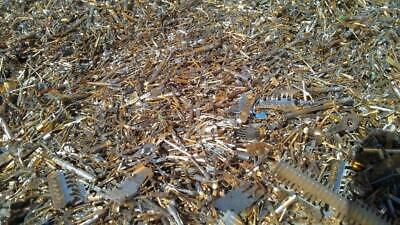 Gold/Silver Recovery 2 oz Gold Plated Computer scrap Pins