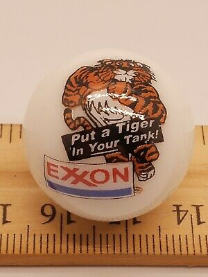 Exxon Tiger In Your Tank Gas & Oil Display Shooter Marble