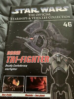 Star Wars Ships And Vehicles Droid Tri Fighter (mag Only)