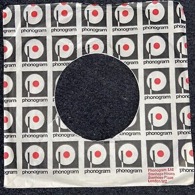 Company Sleeve Vintage Original 45rpm 7inch Record  phonogram
