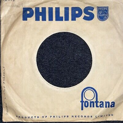 Company Sleeve Vintage Original 45rpm 7inch Record   philips