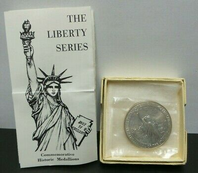 The Liberty Series Commemorative Historic Silver Medallion Coin Round - G283
