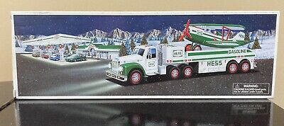 HESS 2002 Toy Truck and Airplane BRAND NEW Orig NIB Collectible