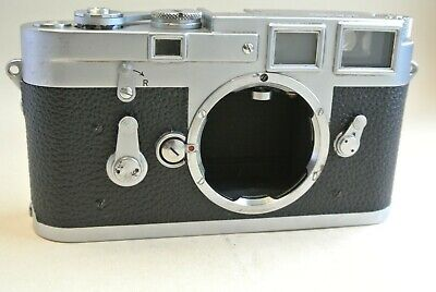 Leica M3  DS double stroke chrome camera body, all working,