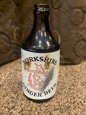 1954 Vintage Yorkshire Ginger Beer Bottle