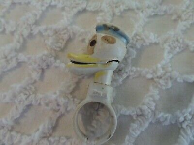 Vintage Donald Duck Cereal premium toy Ring magnet 1949 Disney