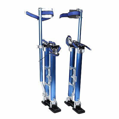 """Blue Drywall Stilts 24""""-40"""" Tool Stilt For Painting Painter Taping USA Shipping"""