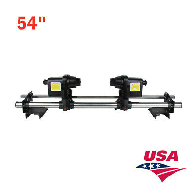 USA-54in Automatic Roland Media Take up Reel SD54 with Two Motors