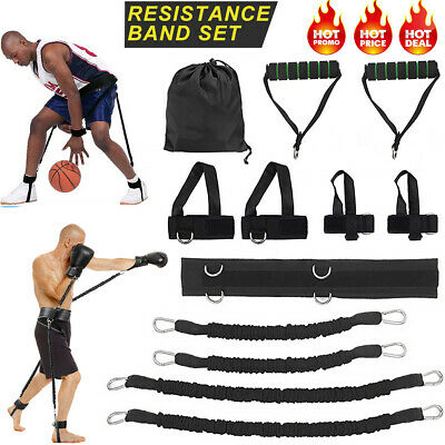 Details about  /Boxing Thai Gym Strength Training Equipment Sports Fitness Resistance Bands Kits
