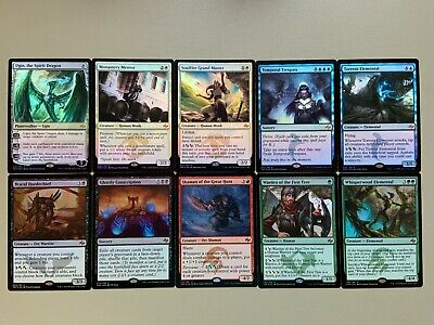 Foil MTG Seattle 1x Fate Reforged Complete Set Factory Sealed