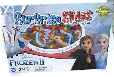 Details about  /Disney Surprise Slides FROZEN II 2 Edition Chutes/&Ladders Board Game Free Ship !