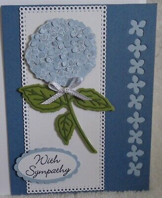 4 Blessed have You Life Flowers Boho Indigo Blank Greeting Cards Kit Stampin Up