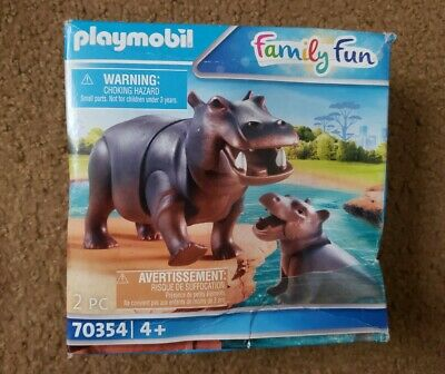Playmobil Zoo   Hippo with Calf    #70354   2020  New in Bag
