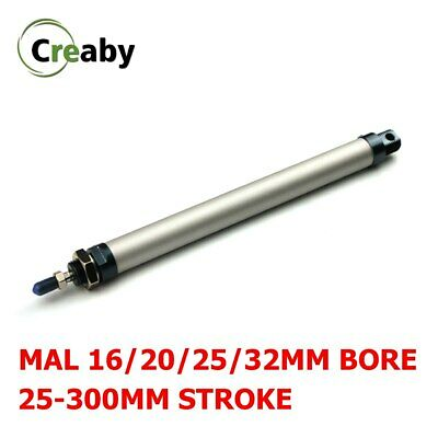 Details about  /New 1pc MAL 32mm x 250mm Single Rod Double Acting Mini Pneumatic Air Cylinder