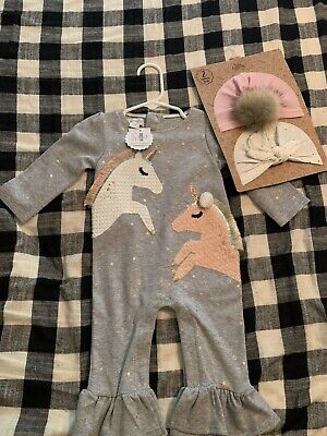 Details about  /BNWT Mud Pie Two Piece Golden Stars Outfit Girl/'s Size 3-6 Month