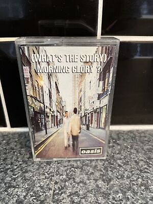 Oasis (Whats The Story) Morning Glory Cassette Album Original 1995 C Cre 189