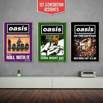 Oasis posters - What's the Story Collectors Set - First Generation Reprints