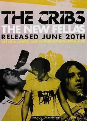 The Cribs poster - The New Fellas