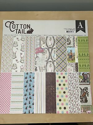 """Authentique Double-Sided Cardstock Pad 12/""""X12/"""" 18//Pkg Masquerade 738944703083"""