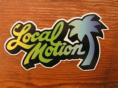 Local Motion Surfboard sticker Surfboards vintage style surfing decal