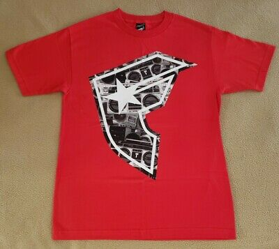 Famous Stars /& Straps FSAS Luck is Chance But Trouble is Sure Pink T-Shirt NWT