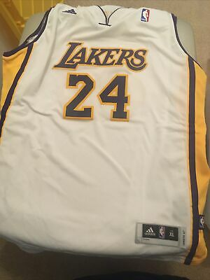 ADIDAS KOBE BRYANT #24 Lakers Kids Jersey X Large (only worn once ...