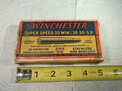 Details about  /Winchester Super-Speed 22 Long Rifle Hollow Point Empty BRICK Box+10 50 RD BOXES