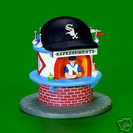 Dept 56 CIC CHICAGO WHITE SOX REFRESHMENT STAND MINT!