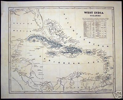 "Morse and Breese: ""West India Islands,"" 1842"