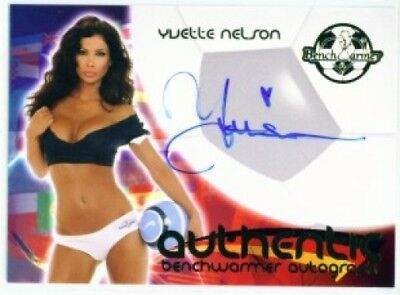 """Yvette Nelson """"autograph"""" Benchwarmer World Cup 06"""